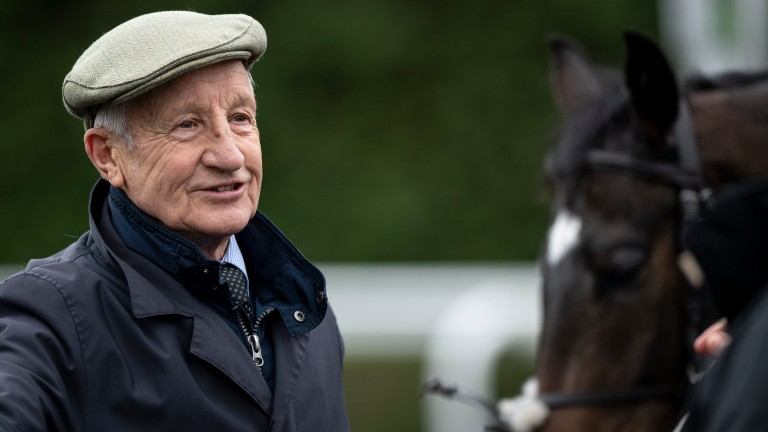 Michael Madgwick: the trainer of Big 'n Better, who scored at 100-1 at Fontwell on Monday