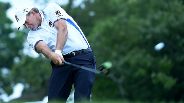Retief Goosen has been knocking on the door on the Senior tour