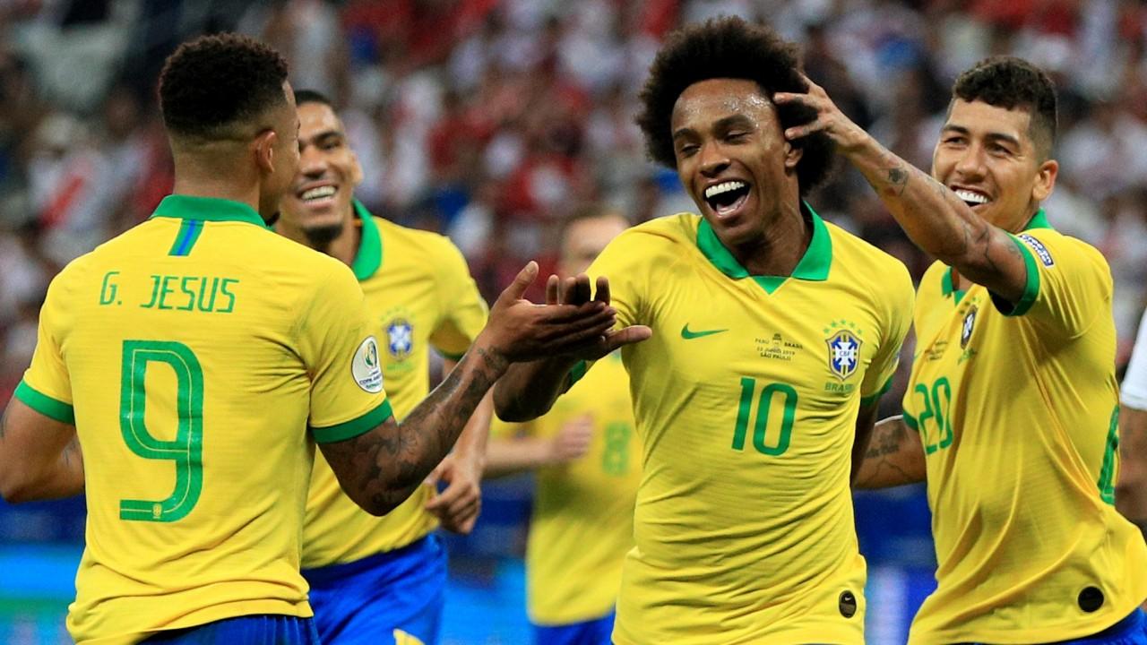 Image result for Brazil v paraguay