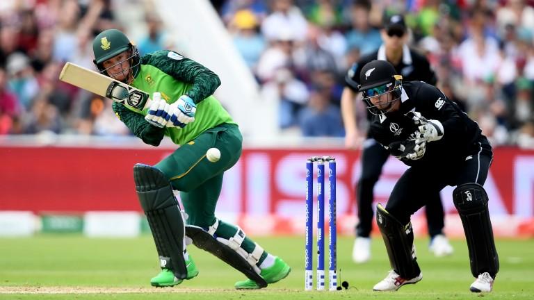 Rassie van der Dussen scored an unbeaten 67 in South Africa?s defeat to New Zealand