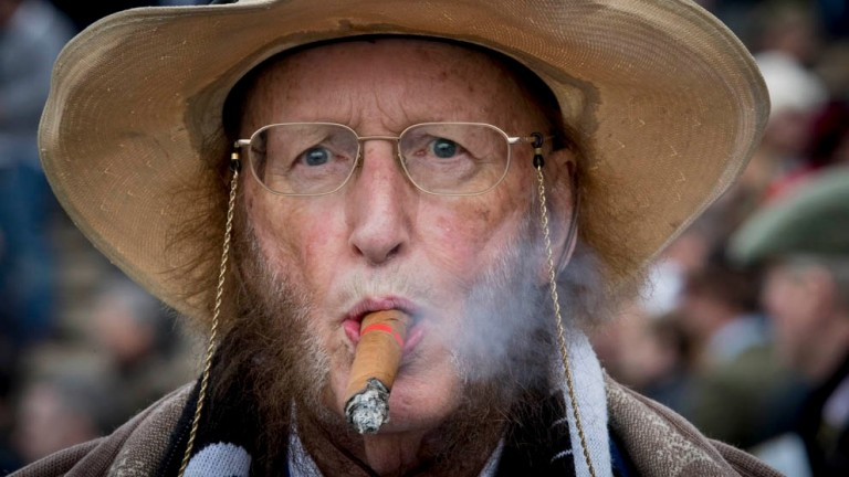 John McCririck: integral part of racing on television for more than three decades