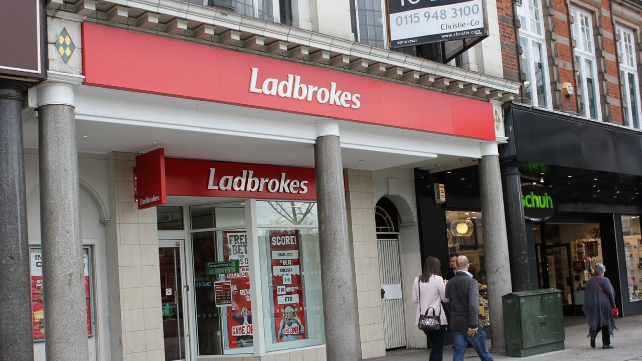 Ladbrokes Coral owner reduces number of betting shops at risk of