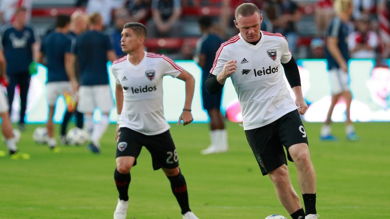 Wayne Rooney (right) has been in superb form for DC United