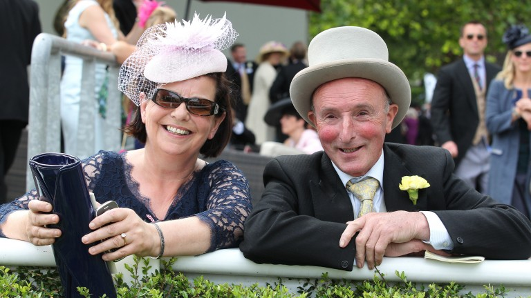 Honora and Bobby Donworth: breeders of Rizeena and rising star Summer Romance