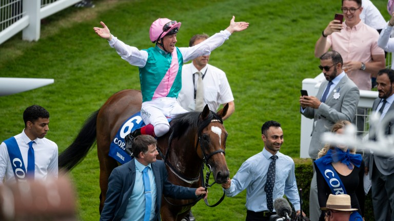 Enable returns to the Sandown winner's enclosure after the Coral-Eclipse