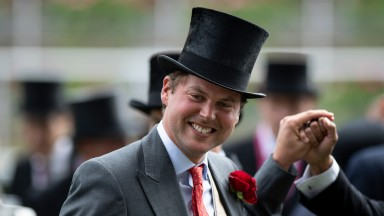 Charlie Fellowes after his Royal Ascot winner