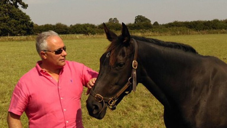 Gary Hodson with his remarkable broodmare Primo Lady