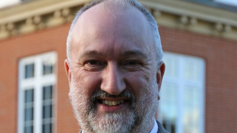 Professor Steven Parrisien: new man at Palace House