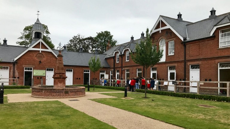 The impressive Rothschild yard is home to the Retraining of Racehorses