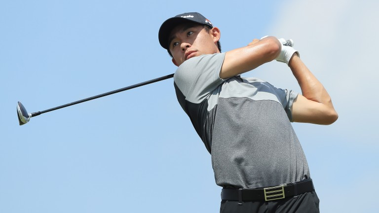 Youngster Collin Morikawa looks set for another strong showing