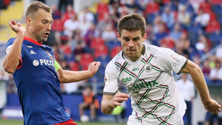 Krasnodar have bolstered their defence with the signing of Ruslan Kambolov (right)