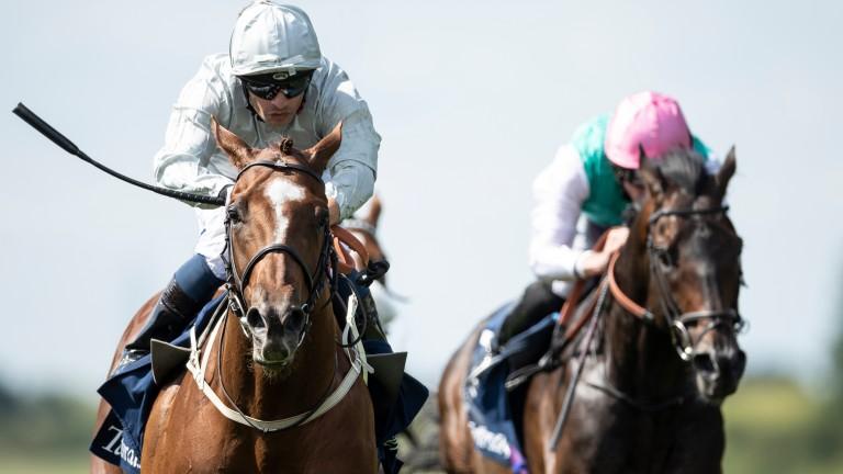 Communique lands the Princess of Wales's Stakes under Silvestre de Sousa