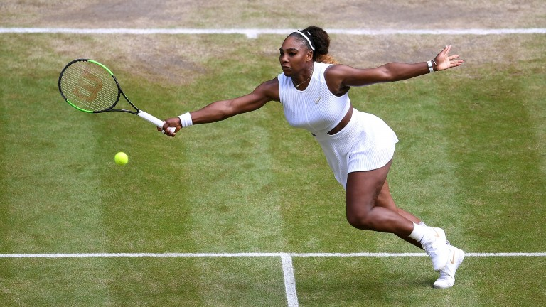 Serena Williams was in total control during her semi-final victory over Barbora Strycova