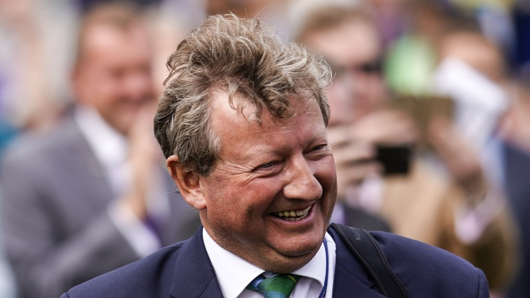 Mark Johnston: saddled his 236th winner of 2019 on the Flat in Britain