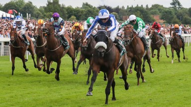 Pivoine and Rob Hornby charge home