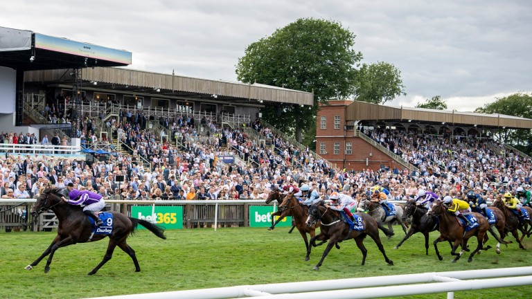 Ten Sovereigns blitzed his rivals for speed in the July Cup