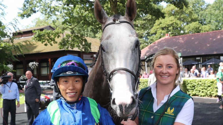 Vincent Ho is hoping to taste success at Ascot this weekend to add to his British tally