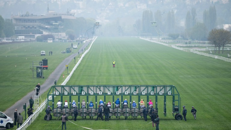 Maisons-Laffitte has the longest straight track in Europe but will host no fixtures until at least 2021