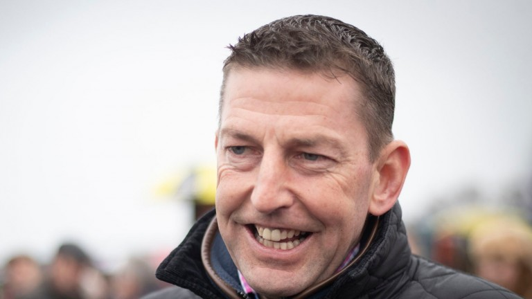 """Gavin Cromwell: """"He got a small bit of a knock at Leopardstown and, I suppose we were being a bit optimistic and were hoping that he'd be okay in time for Cheltenham."""""""