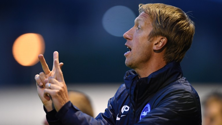 Brighton boss Graham Potter is expected to make wholesale changes