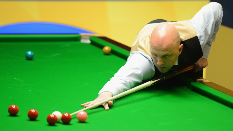 Mark King may need to step up on his first-round victory over Allan Taylor