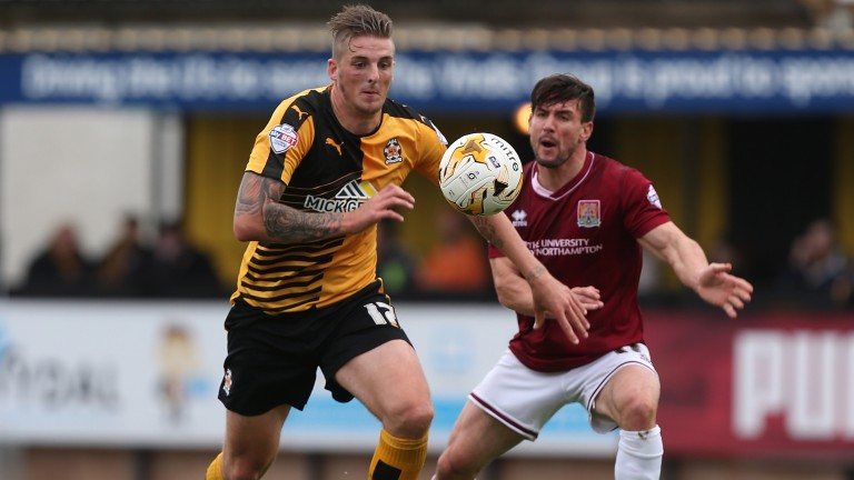 Liam Hughes: former Cambridge United player's arrival at Stratford is a step in the right direction