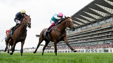 Enable beats Crystal Ocean to win the King George VI and Queen Elizabeth StakesAscot 27.7.19 Pic: Edward Whitaker