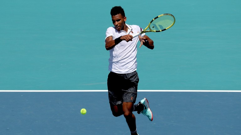 Felix Auger-Aliassime may be tough to beat in the US capital city