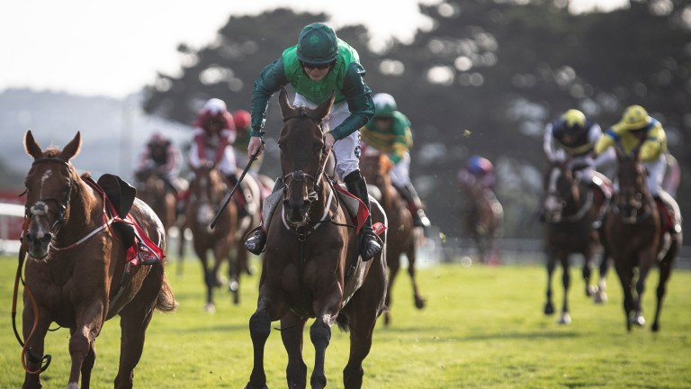 Borice lands the 2019 Tote Galway Plate under Luke Dempsey - his trainer Gordon Elliott is looking for a hat-trick in 2020