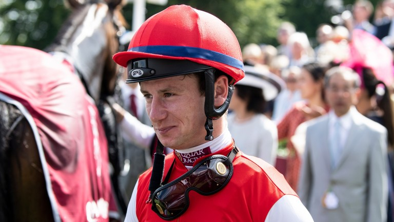 Oisin Murphy: won his maiden jockeys' title last season