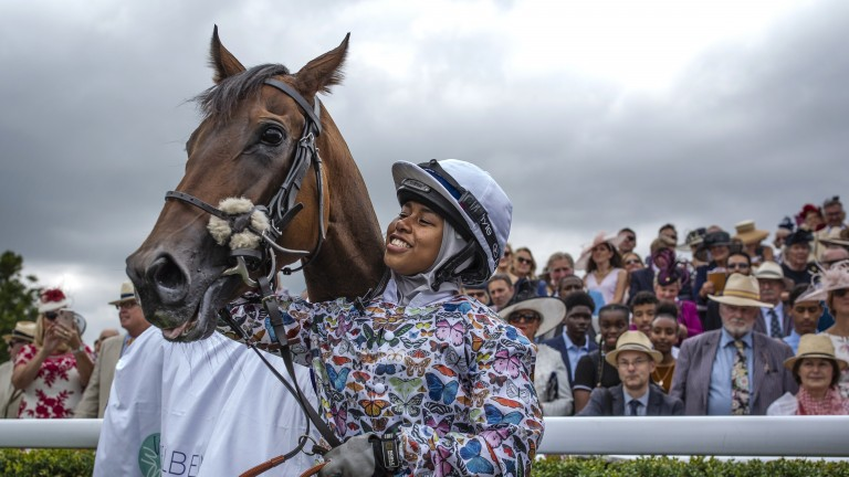 """Sara Cumani: """"The Khadijah Mellah story has proved very powerful and perhaps something like that could be done for horse welfare"""""""