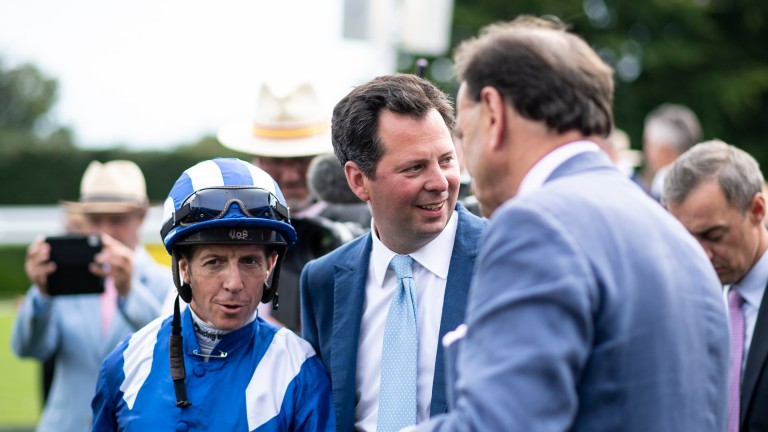Charlie Hills and Jim Crowley enjoyed doubles on the final day of Glorious