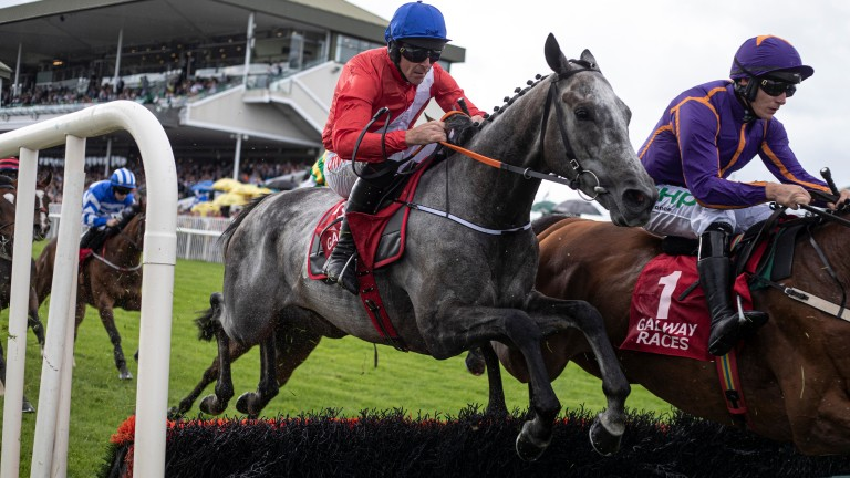 Davy Russell: impressed aboard Lethal Steps