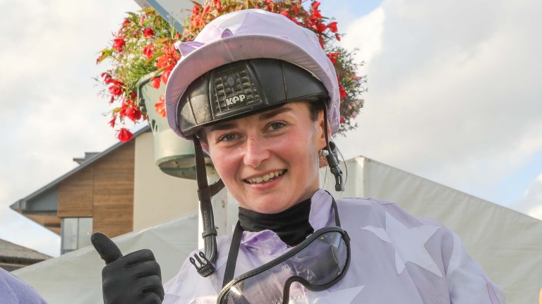 Shelley Birkett: bagged a double on Carlisle's unique all-female riders' fixture