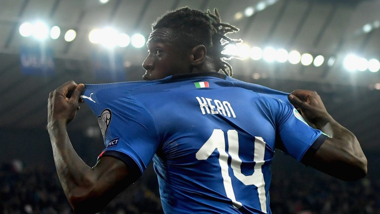 Italy striker Moise Kean looks a cracking signing for Everton