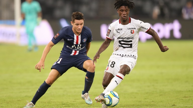 Rennes lost the French Super Cup 2-1 against Paris Saint-Germain