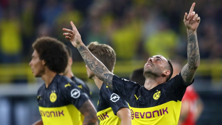 Paco Alcacer can lead from the front for Borussia Dortmund in their Bundesliga opener