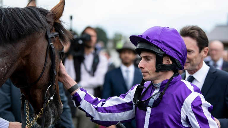 Japan: likley to be ridden by Ryan Moore in the Arc