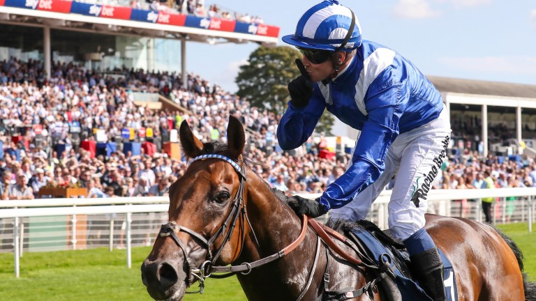 Battaash was one of the highlights of last year's Ebor meeting