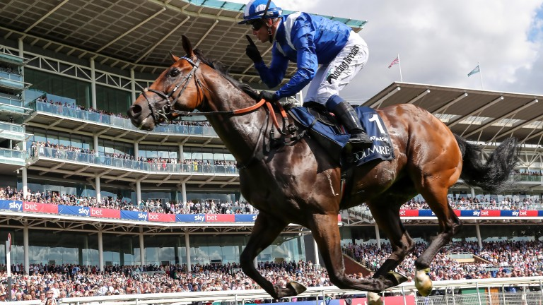 Battaash was magnificent when winning the Coolmore Nunthorpe Stakes