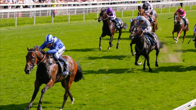 Battaash came home well clear of Soldier's Call on Friday
