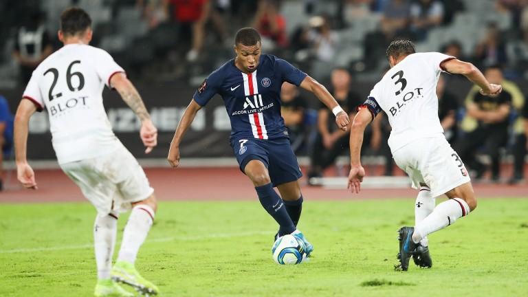Kylian Mbappe of Paris Saint-Germain
