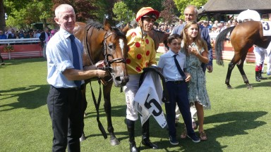 Spinning Memories streaked clear of her rivals to land the Prix de Meautry under Christophe Soumillon at Deauville on Sunday