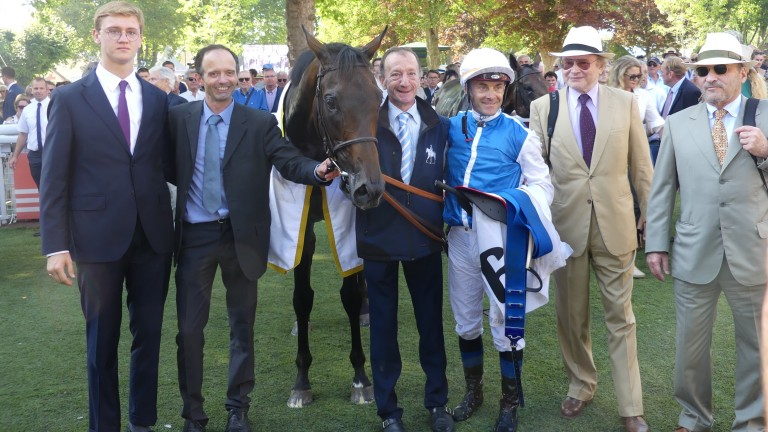Ziyad: has won five times during his career, including twice at Deauville
