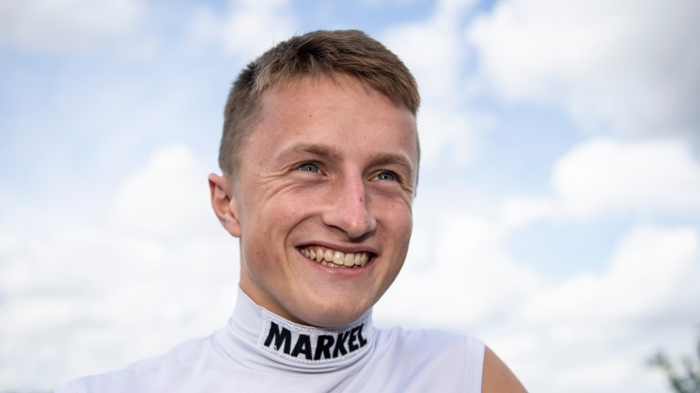 Tom Marquand: rides the Aidan O'Brien-trained Royal Dornoch in the 2,000 Guineas