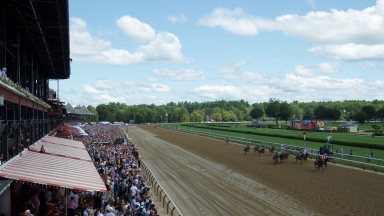 Saratoga: one of the best tracks in America