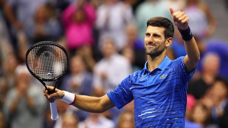 Novak Djokovic had his left shoulder treated three times during the win over Juan Ignacio Londero