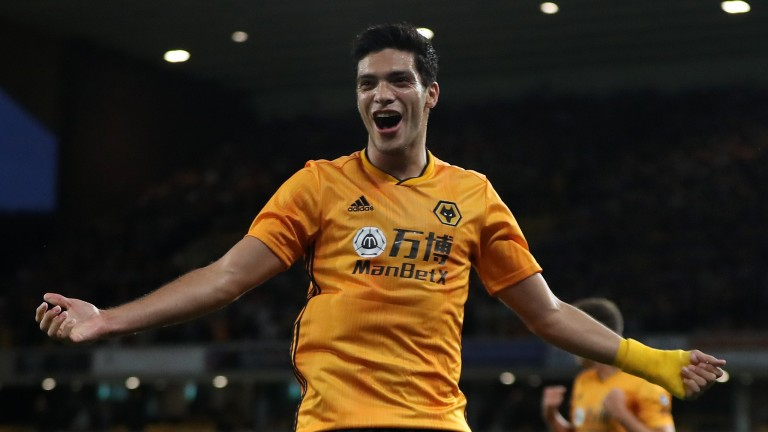 Wolves striker Raul Jimenez has started the season in cracking form