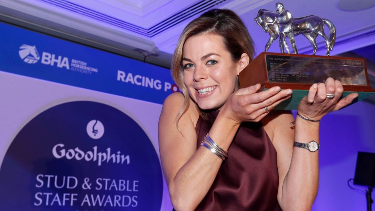 Catriona Bissett won this year's Godolphin Employee of the Year award