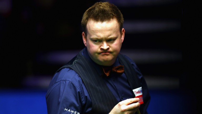 Shaun Murphy looks as if he means business on the baize this season